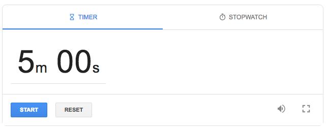 Timer Google