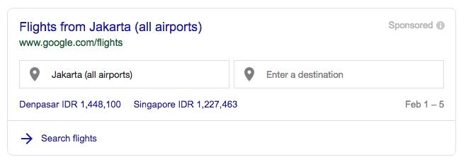 Flight Google