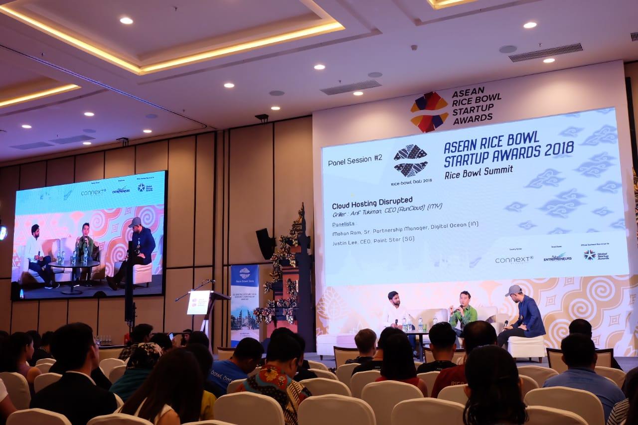 Justin Lee at ASEAN Rice Bowl Awards 2019