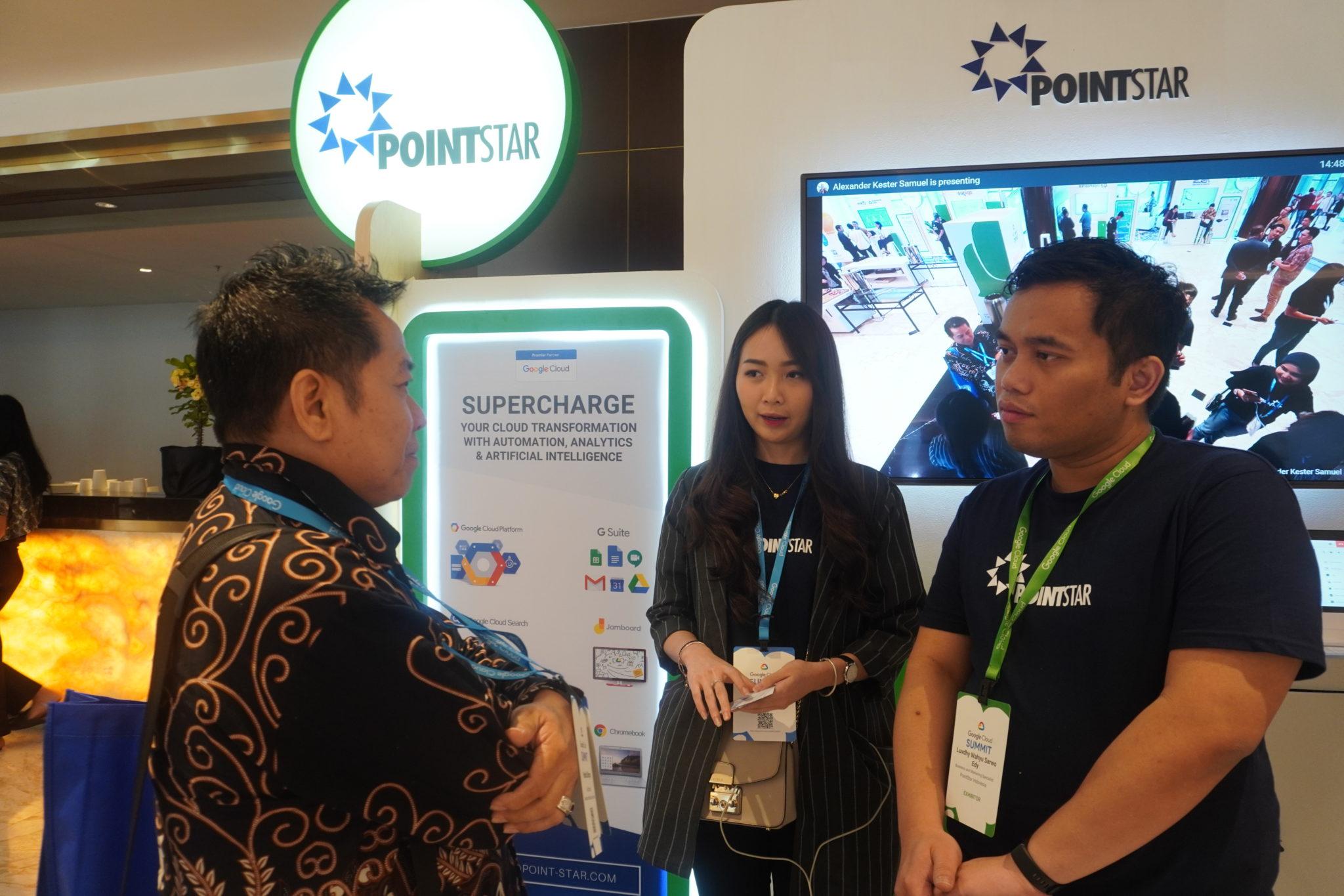 Tim PointStar di Google Cloud Summit