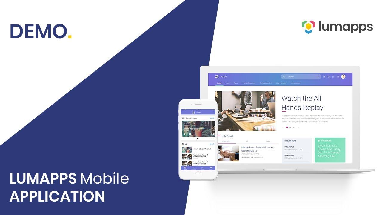 LumApps mobile